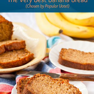 The Best Sour Cream Banana Bread.