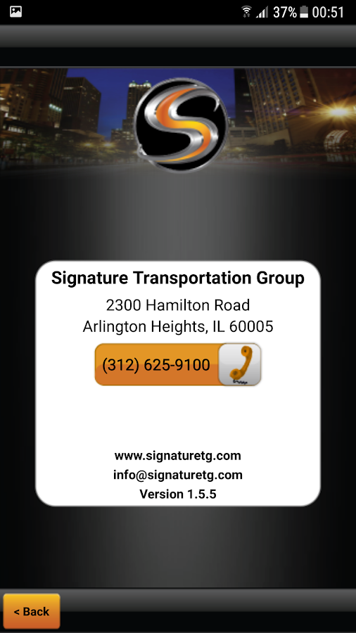 Signature Transportation- screenshot