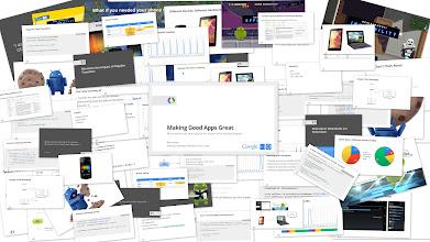 "Photo: ""Making Good Apps Great"" by Reto Meier (Google I/O 2012)"