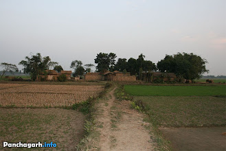 Photo: A village house in Panchagarh