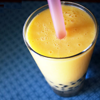 Mango Bubble Tea.