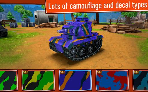 Toon Wars: Awesome PvP Tank Games 3.62.3 screenshots 3