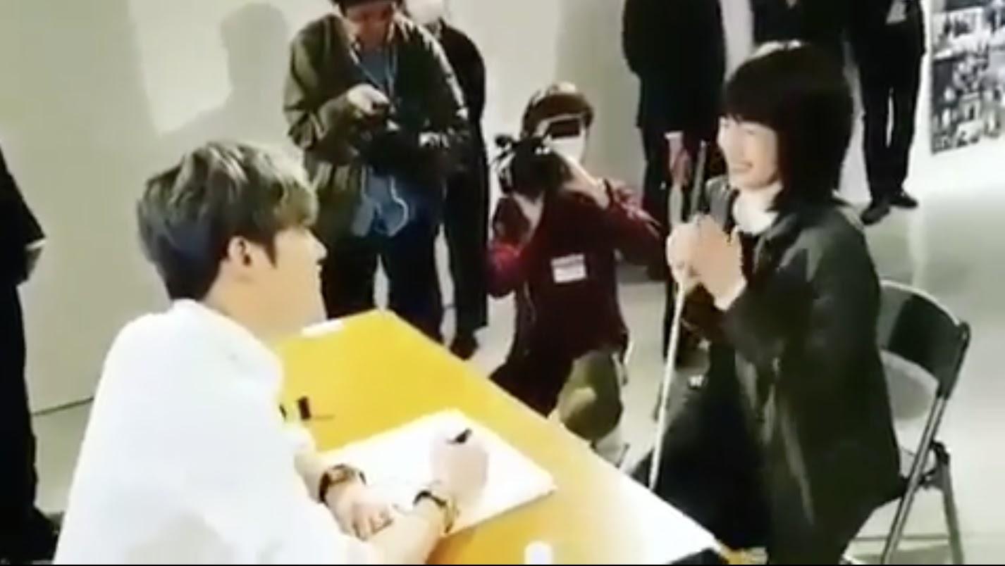 Resultado de imagen para jaejoong blind fan japan