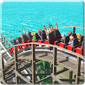 Roller Coaster Games Theme Park Ride icon