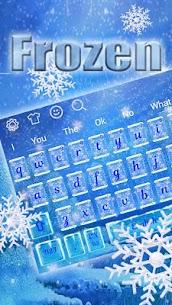 Frozen Snowflake Keyboard 1