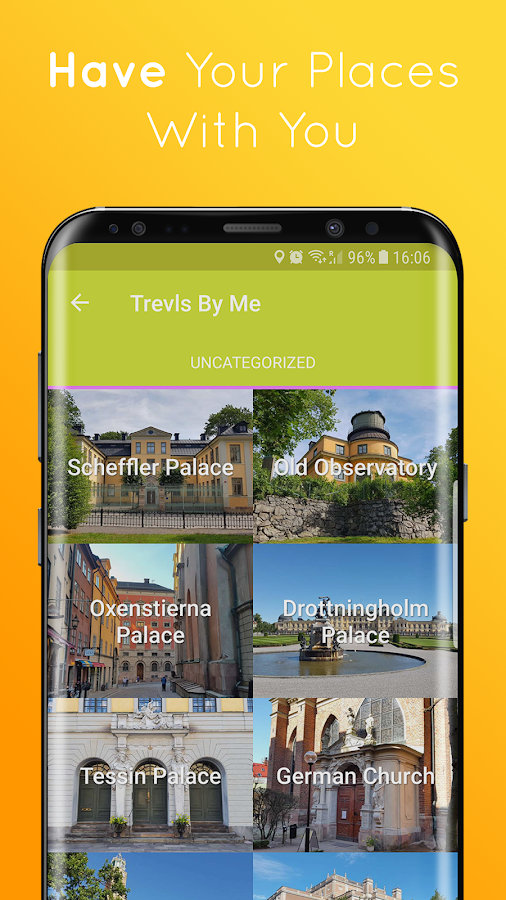 Trevl – Discover and Learn About Places to Visit- screenshot