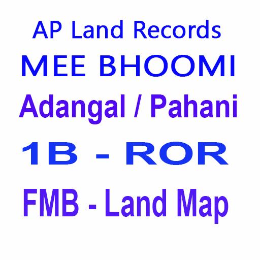 Meebhoomi Adangal Map
