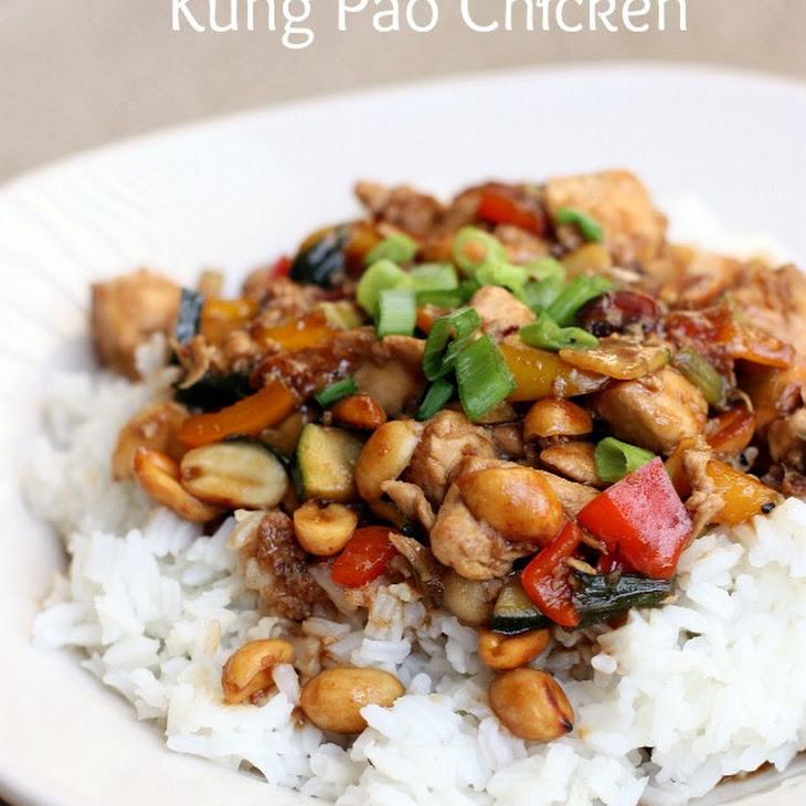 Restaurant Style Kung Pao Chicken Recipe