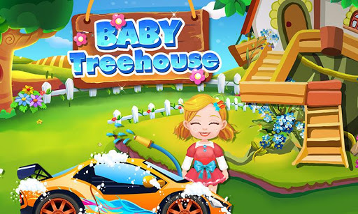 Treehouse Kids Playhouse Game