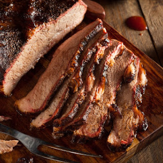 Barbecued Brisket.