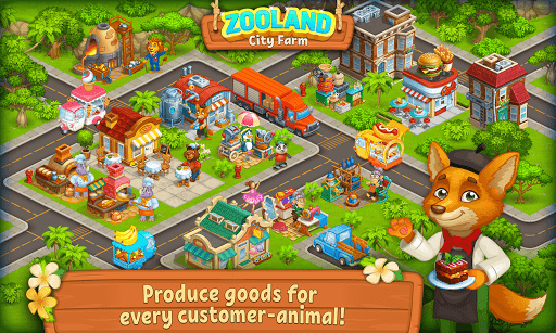 Farm Zoo: Happy Day in Animal Village and Pet City - screenshot