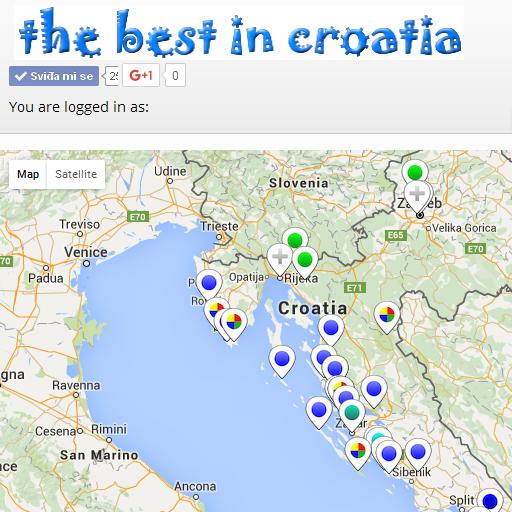 Android aplikacija Croatia Ads Map Guide