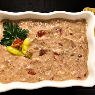 Gluten Free Creole Red & White Bean Dip.
