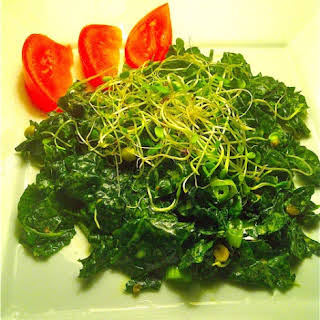 Dharma's Kale Salad.
