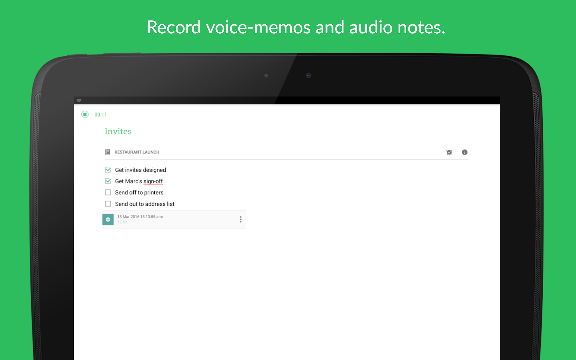 Evernote - stay organized. screenshot #12