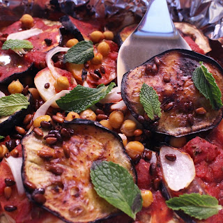 Syrian Moussaka with Eggplant and Potato (Vegan).