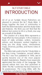 NLT Study Bible - náhled