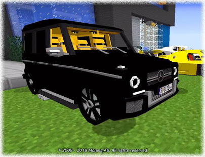 New Cars for Minecraft Mod APK for iPhone