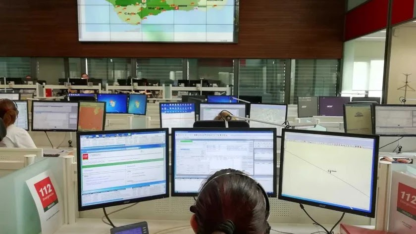 El servicio de Emergencias 112 de Andalucía atendió el aviso.