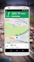 screenshot of Navigation for Google Maps Go