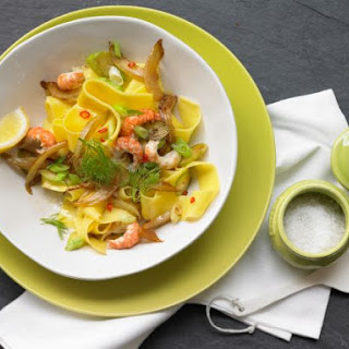 Tagliatelle with Crayfish Tails.