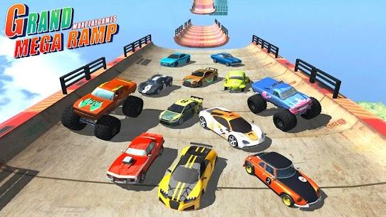 Mega Ramp Car Jumping 2020 4