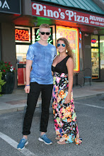Photo: Ross McClung from Scotland and his girlfriend Shannon Bradshaw from England did counter and phones at Pinos Pizza in 2014 and 2015