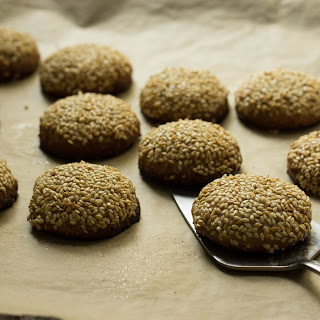 Tahini Olive Oil Almond Cookies Recipe