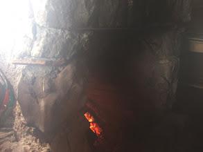 Photo: caminetto al rifugio Gaudolino