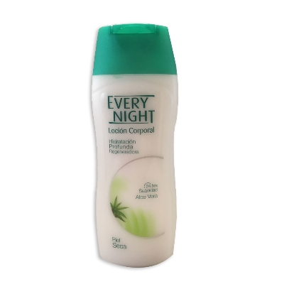 crema corporal every night locion suavidad aloe vera 200ml