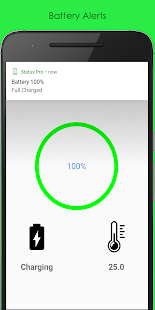 Status Pro: Battery, Wi-Fi and Bluetooth Info - náhled