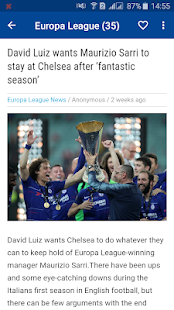Chelsea Daily News - Chelsea Fans for PC-Windows 7,8,10 and Mac apk screenshot 2
