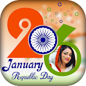 Republic Day Photo Frame 2018 - 26 Jan Photo Frame