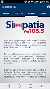 Simpatia FM - náhled