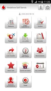 Vodafone Self Servis - screenshot thumbnail