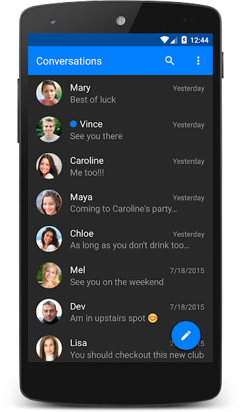 chomp SMS Pro Screenshot Image
