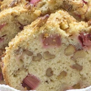 Crunchy Rhubarb Loaf