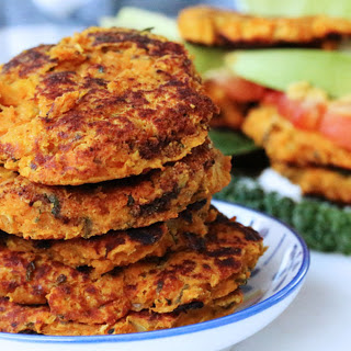 Sweet Potato Bean Burgers [Vegan, Gluten-Free]