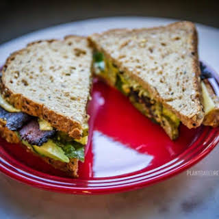Sweet Earth Bacon Avocado Basil Sandwich.