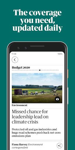 Guardian Daily screenshot 1