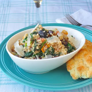Spinach and Parmesan Quinoa.