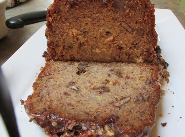 This tasty and moist Banana nut Bread is so yummy.