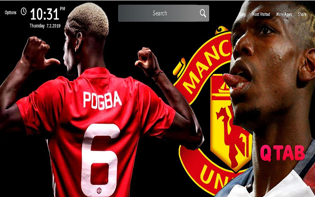 Paul Pogba Wallpapers Theme Person New Tab
