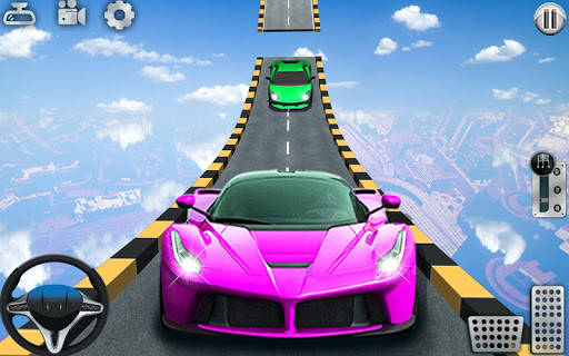 Impossible Tracks Car Stunts Driving: Racing Games apkslow screenshots 17
