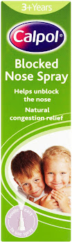 Calpol Blocked Nose Spray - 3+Years, 15ml