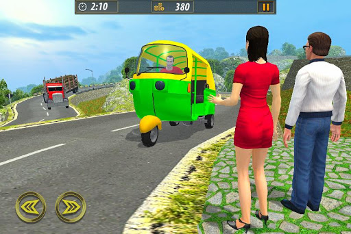 Tuk Tuk Taxi Sim 2020: Free Rickshaw Driving Games screenshots 1