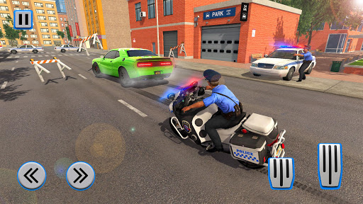 Police Moto Bike Chase u2013 Free Simulator Games 1.4 screenshots 12