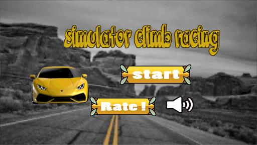 simulator climb racing car