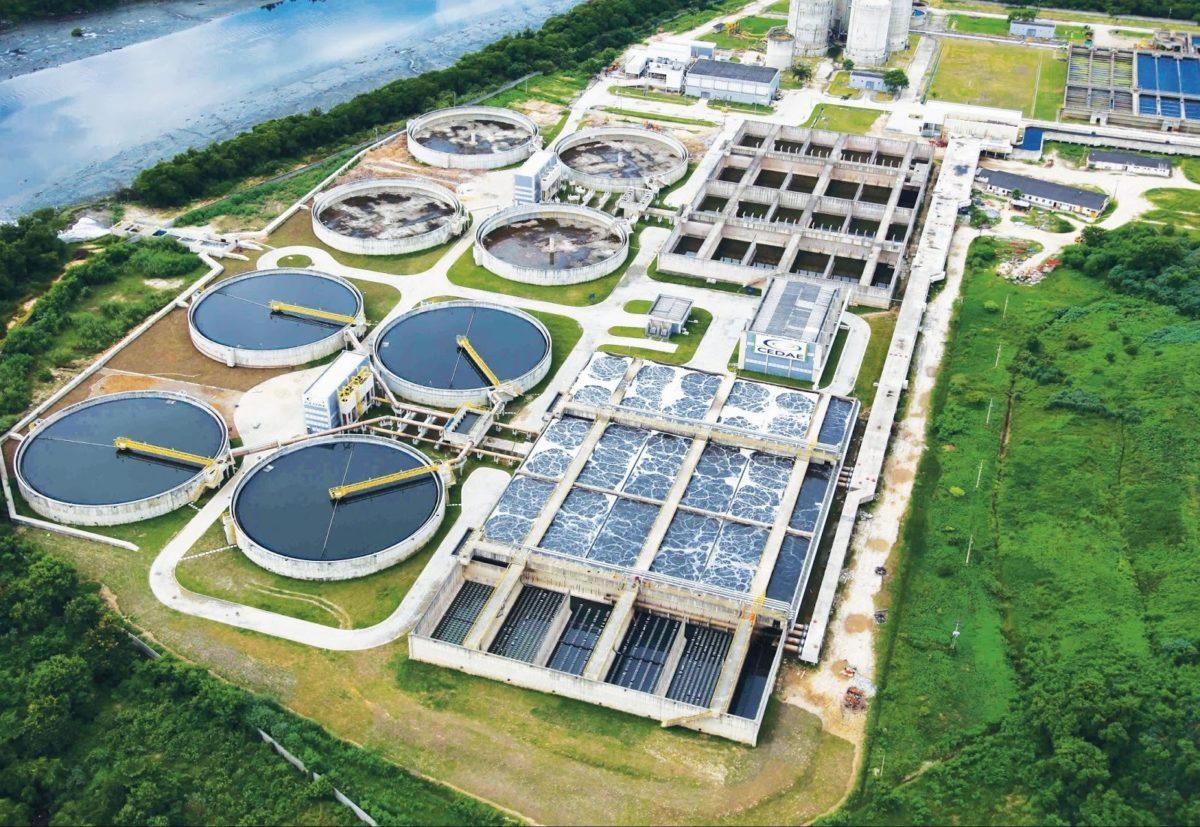 Estação de Tratamento de Água (ETA).