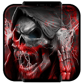 Blood Death Skull Theme
